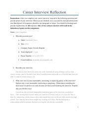 Career Interview Assignment.pdf