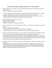 Discovering Psychology Applying Psychology in Life Video Worksheet(1).docx