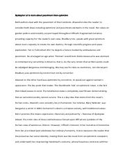 Pessimism and optimism essay comparing THT and F451.pdf