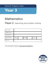 Year 3 - Reasoning - Summer 2019.pdf