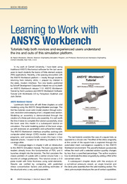 learning to work with ansys workbench
