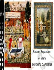 6.Eastern Expansion of islam-mughal gardens.ppt