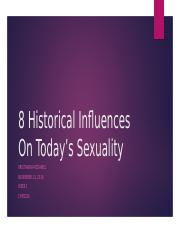 8 Historical Influences On Today's Sexuality