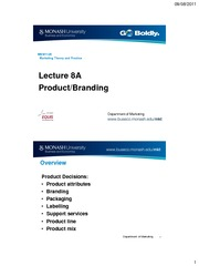 Lecture 8A Product_branding