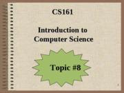 CS161_Topic#8