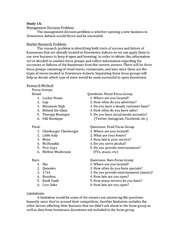 MKTG 4360 - Market Research and Analytics Overview Project (Secondary Data)