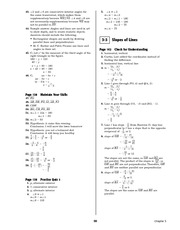 Pre-Calculus Homework Solutions 57