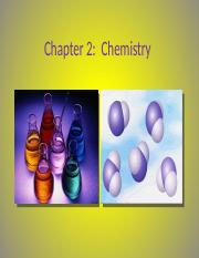 Chapter 2.1(3) Chemistry