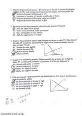 Economics 221 Test 2 Review