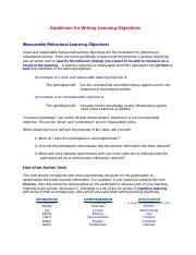 How to Write Learning Objectives.pdf