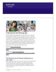 5 Must-Know SAT Writing Tips - Kaplan Test Prep.pdf