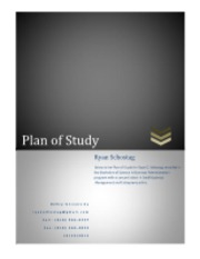 Week 7 Assignment_Plan of Study_Ryan Schostag