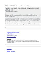 MGMT 404 Agile Schedule Development Discussions 2 Week 3 - Copy.docx