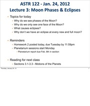 3 moon phases and eclipes