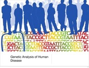 L28 Genetic analysis of human disease