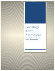 Sociology Anmol Shestha 3rd Assesment.docx