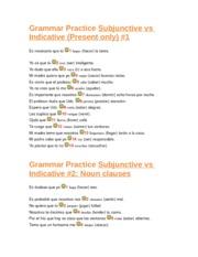 conjuguemos 3-21 - Grammar Practice Subjunctive vs Indicative ...