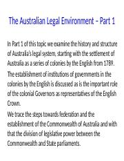 Lecture 2 - The Australian Legal Environment.pptx