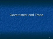ECON 2306 10 Government and Trade