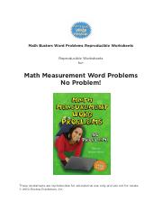 Free Long Multiplication Worksheets.pdf - Math Busters Word Problems ...
