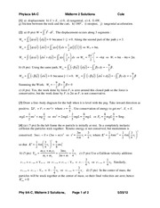 Midterm 2 Solutions 2012