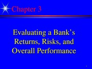 Bank Mgt. 5th Ed, Chapter 3 Revised