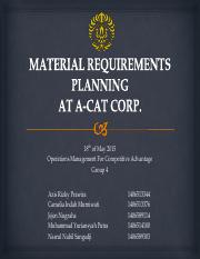 268547011-OPERATION-MANAGEMENT-CASE-MRP-AT-A-CAT-CORP