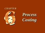 CH06 Process Costing