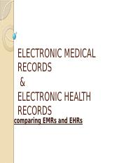 ELECTRONIC MEDICAL RECORDS.pptx group 6 present.