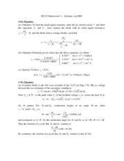 Professors HW3 Solutions