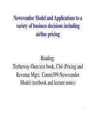 Topic 9B-newsvendormodel-applicationstoRM-simplified-19slides(1)