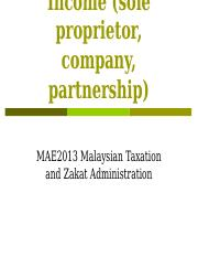 Zakat on Business Income.ppt