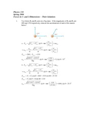 1D_and_2D_Forces_Solutions
