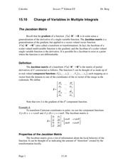 Calculus Notes 7E 15.10