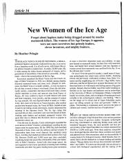 New Woman of the Ice Age.pdf