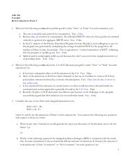 AAE 343 Review Questions Exam 1 Fall 2016 answer key.pdf