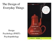 CSE442 -3- Design of Everyday Things