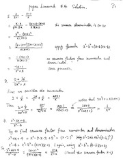 HW14 Solutions