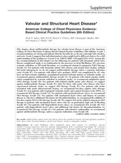 Valvular and Structural Heart Disease