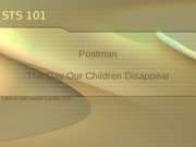 Postman_Children Disappear