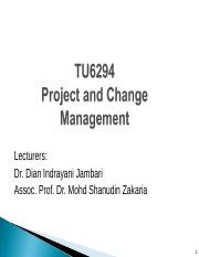 Lec 1 - Intro to Project Mgmt (Dian)