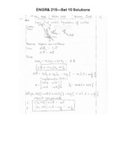 ENGR 215 Set 10 Solutions