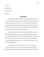 english essay about how i write.docx