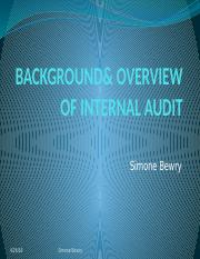 BACKGROUND  OVERVIEW OF INTERNAL AUDIT.pptx
