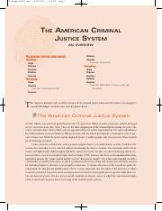 THE AMERICAN CRIMINAL