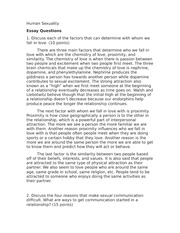 humansexuality human sexuality assignment essay questions 3 pages humansexuality10