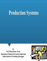 Production systems new