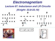 Inductance and LR circuits