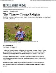 The Climate-Change Religion - WSJ.pdf