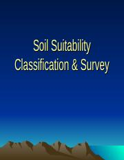 CHAP 3 SOIL SUITABILITY CLASSIFICATION CONT.ppt